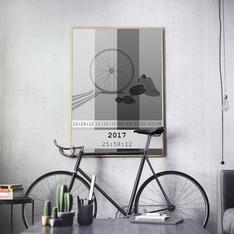 Klassikern - Gråskala poster